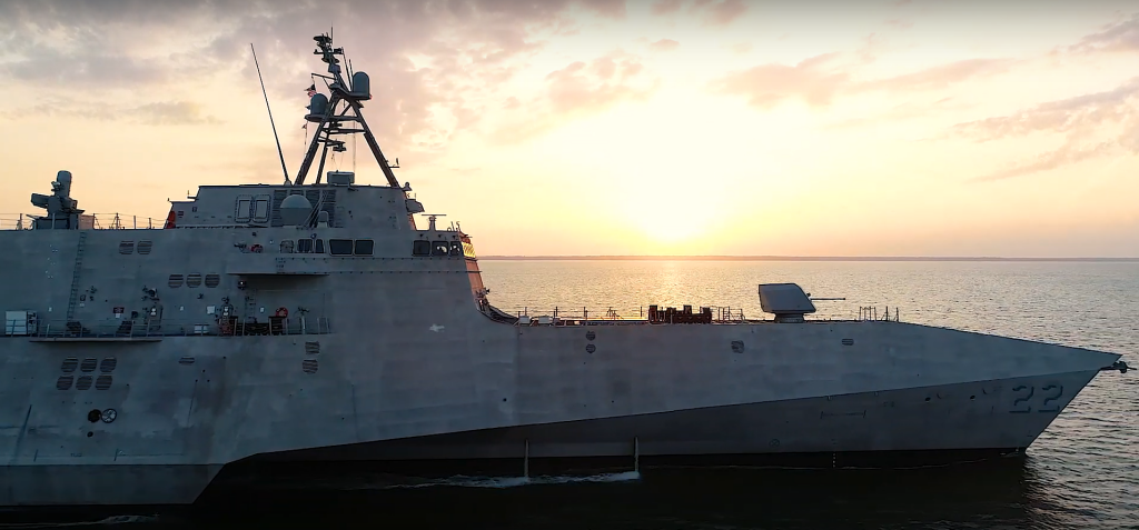 U.S. Navy Accepts Delivery of Future USS Kansas City (LCS 22)