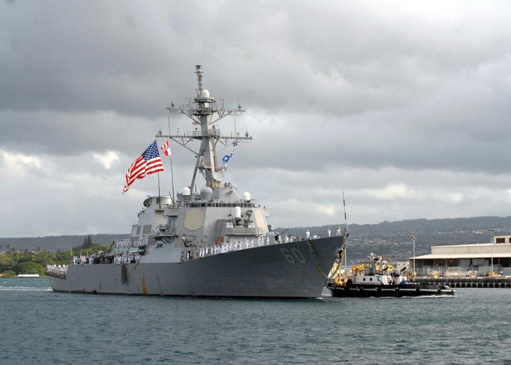 uss paul hamilton 2 - naval post- naval news and information