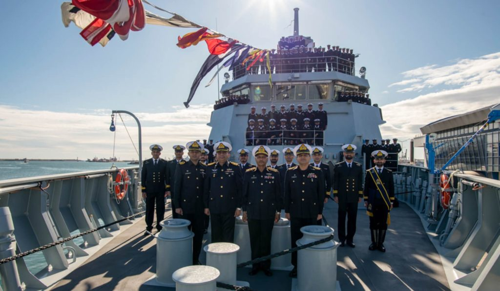 corvette pns yarmook 2 - naval post- naval news and information