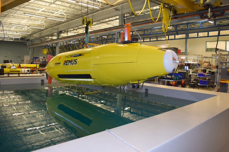 Hydroid Robotics acquired by HII in alliance with Kongsberg