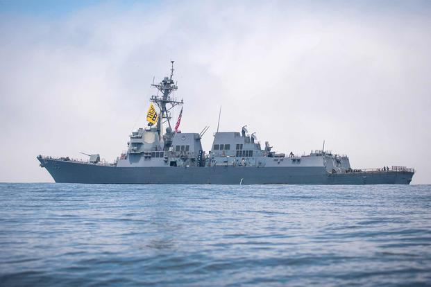 uss dewey underway 1800 - naval post- naval news and information