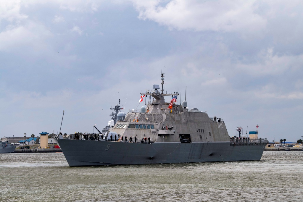 USS Little Rock Departs on Maiden Deployment to Central America
