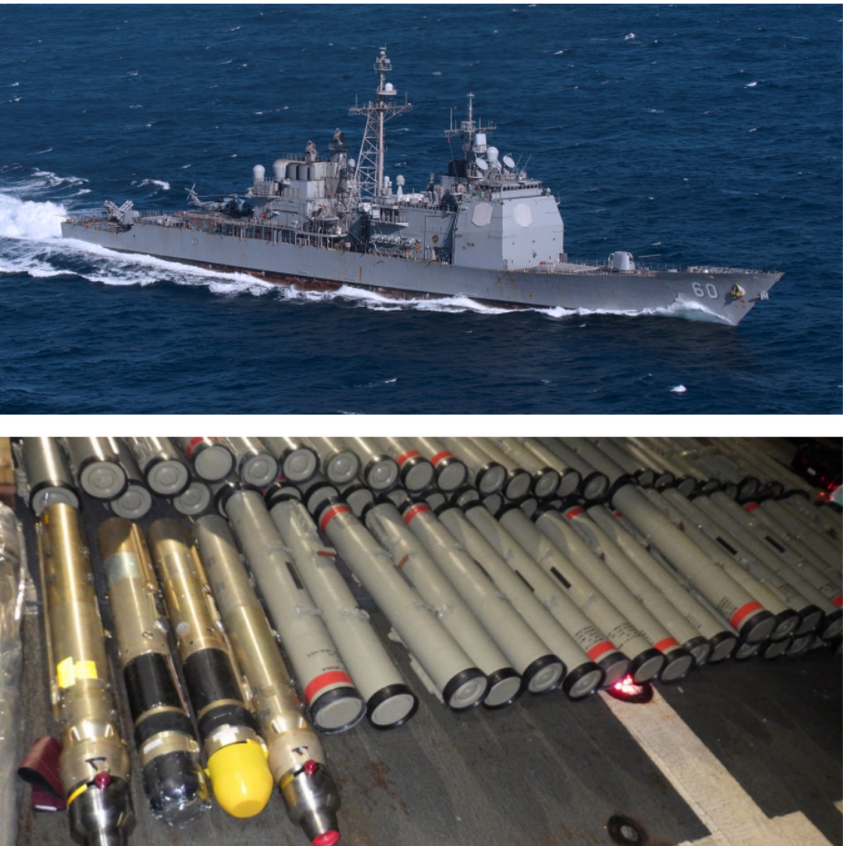 US Navy seizes illegal weapons in Arabian Sea