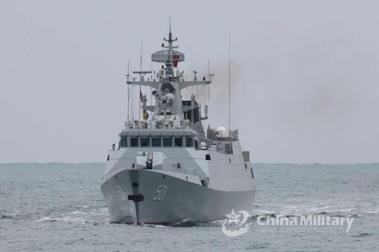"PLA Navy designs drills under ""infected area"" scenarios"