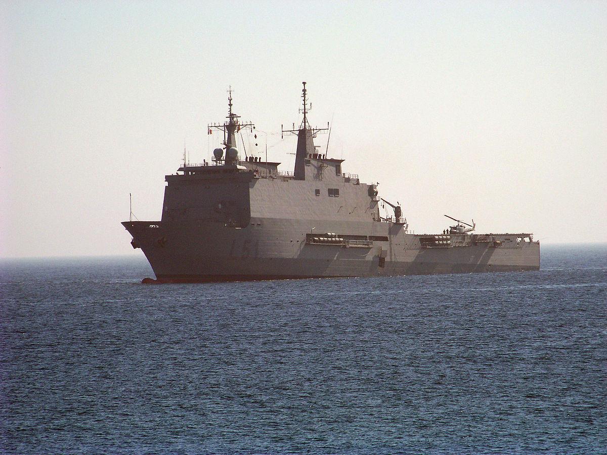 Spanish Navy to send LPD Galicia to Melilla to increase hospital capacity