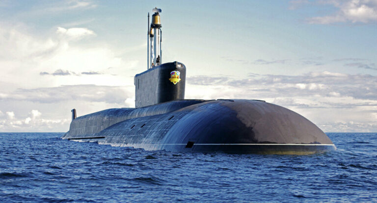 Russia claims that the U.S. Navy failed to detect Borei Class Submarine