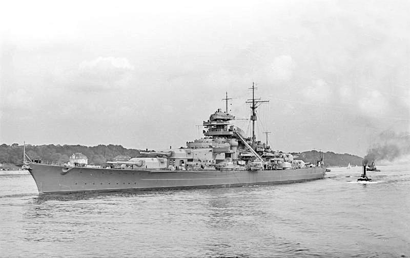 bundesarchiv bild 193 04 1 26 schlachtschiff bismarck - naval post- naval news and information