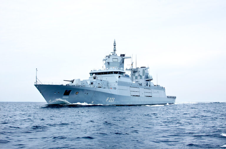 2nd F125 class frigate delivered to German Navy by Thyssenkrupp-led consortium