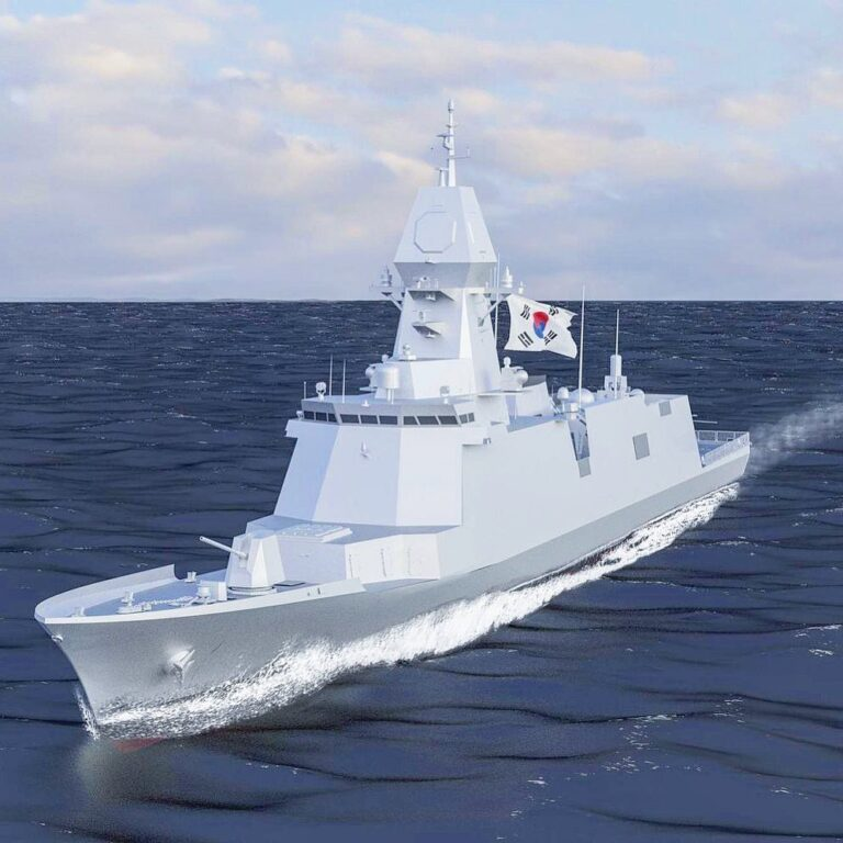 Contract signed for first Korean FFX Batch-III frigate.