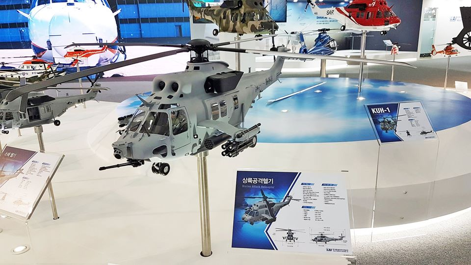 ROK Marine Corps chooses MUH-1 Marineon attack helicopter