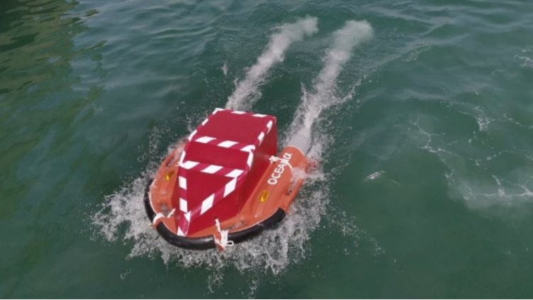 """Zycraft unveils modified """"Dolphin"""" unmanned surface vehicle"""