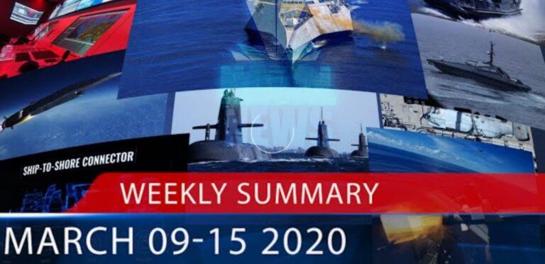 Naval News Weekly Summary for Mar. 9-15, 2020