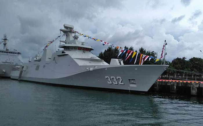 DAMEN completes combat system installation on 2nd Indonesian SIGMA Class Frigate