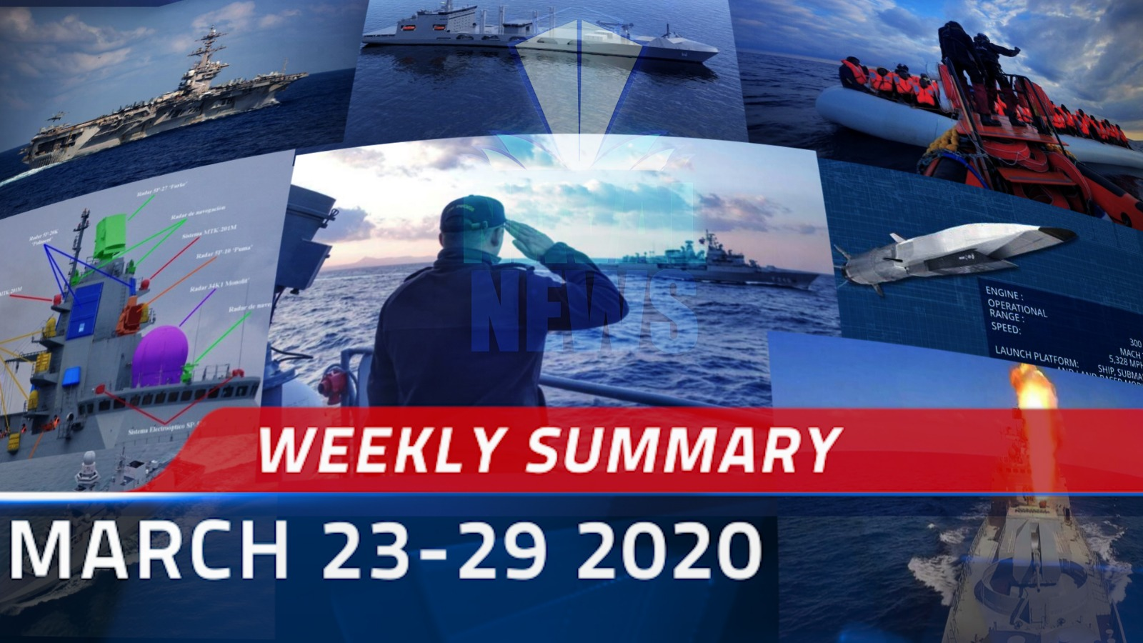 Weekly Summary for 23-29 March 2020