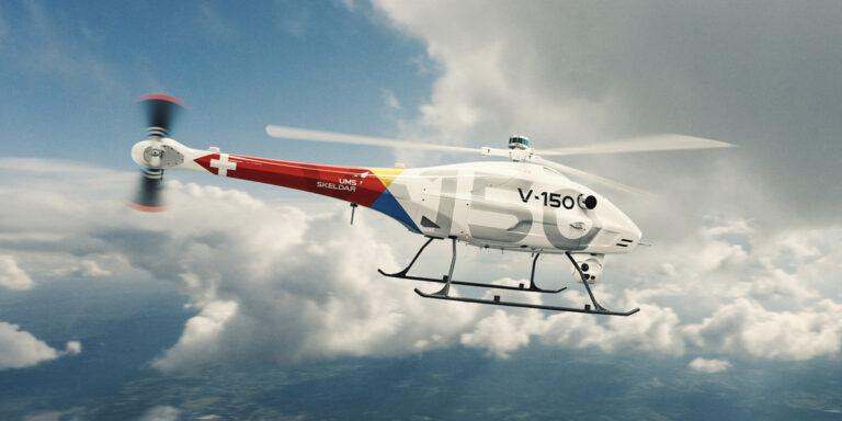 UMS SKELDAR launches new SKELDAR V-150 VTOL unmanned helo