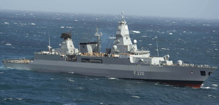 German Navy plans to send a frigate to the Indian Ocean