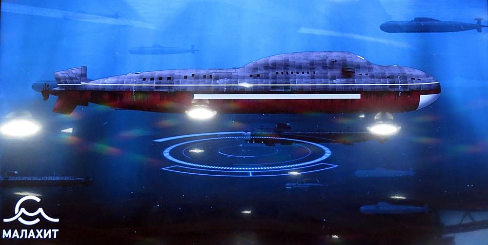 Russia designs 5th generation submarine, Husky Class