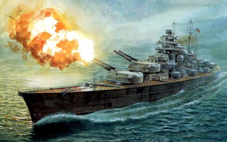 Bismarck: A battleship preferred to die rather than surrender