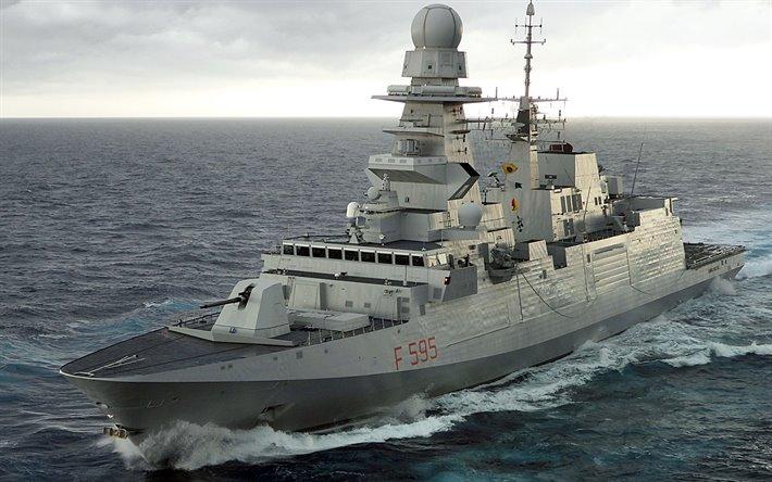 thumb2 luigi rizzo f 595 bergamini class italian frigate italian navy - naval post- naval news and information