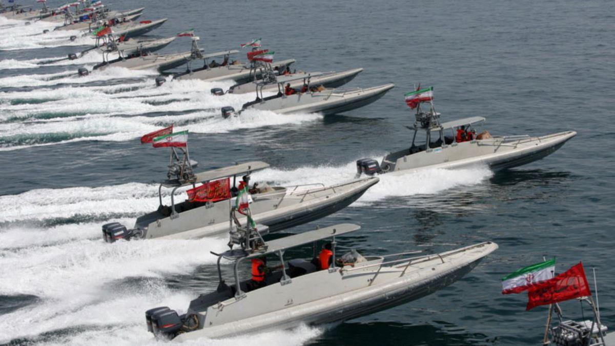Iranian speedboats harass U.S. Navy assets in the Persian Gulf