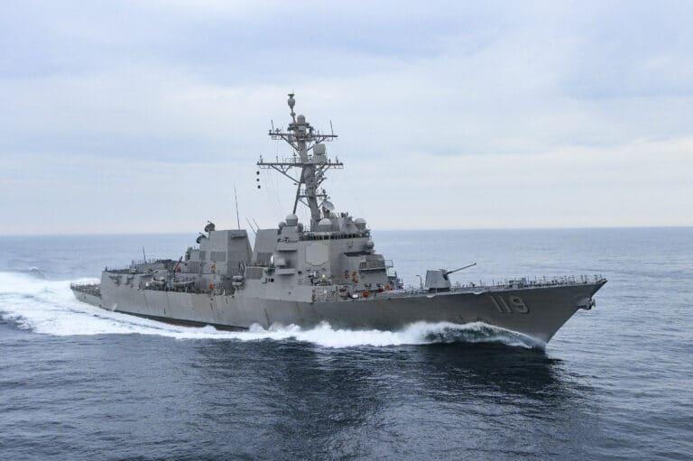 HII delivers future USS Delbert D. Black to the U.S. Navy