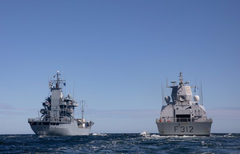 NATO SNMG-1 and SNMCMG-1 conduct exercise in Denmark-Norway region