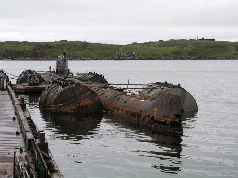 How many nuclear submarines have been sunk?