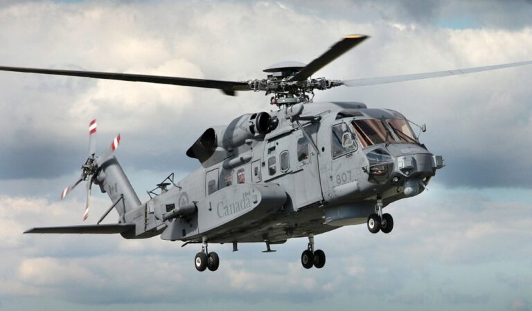NATO helicopter crashes in the Ionian Sea near the Greek island of Kefalonia
