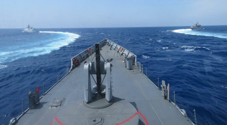Turkish Navy conducts operational readiness exercises in East Mediterranean