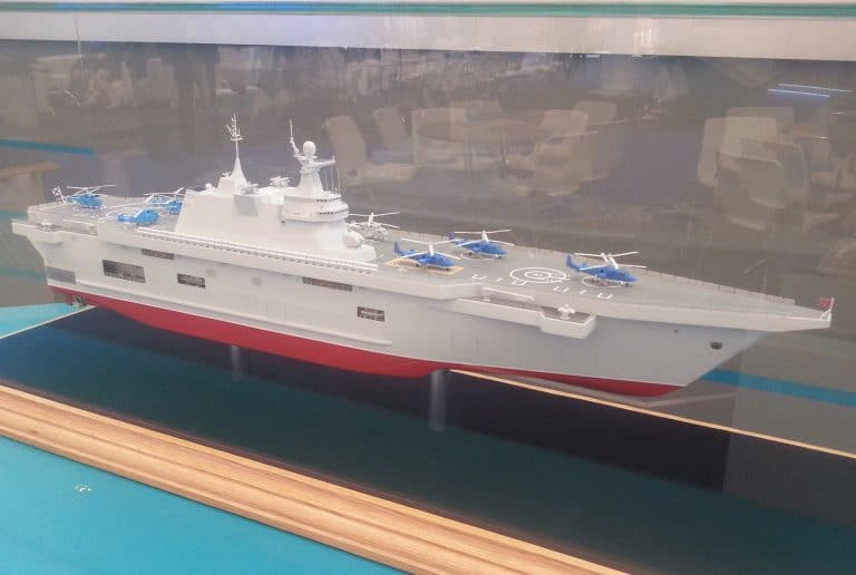 Russia to sign a deal with Zaliv Shipyard for 2 Lavina Class LHD