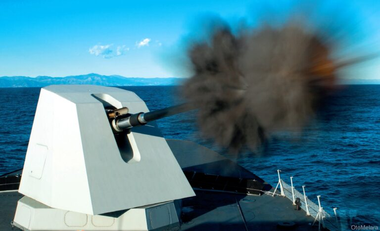 Dutch Navy signed a deal with Leonardo for 127 mm gun
