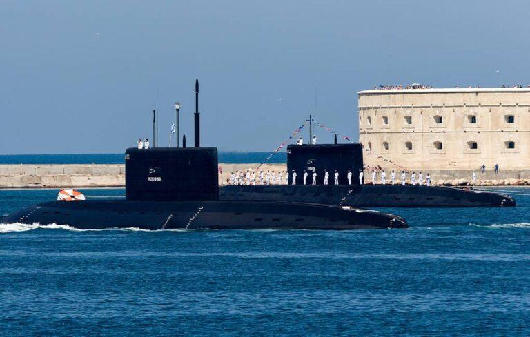 Russian Project 636.3 submarine begins Mediterranean Sea deployment