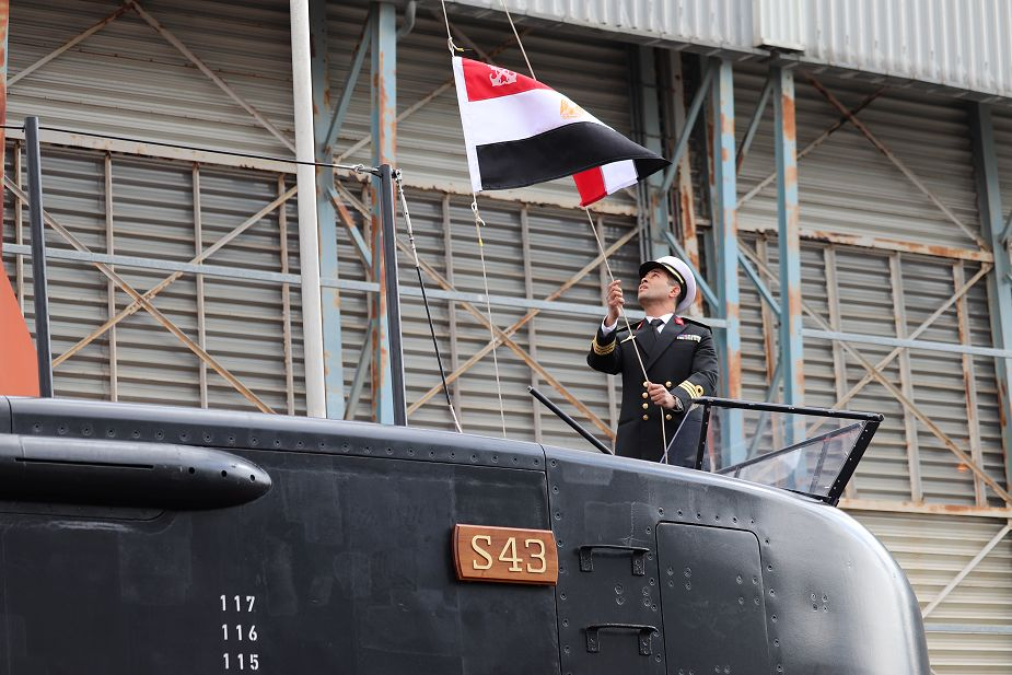 ThyssenKrupp delivers 3rd Type 209/1400 submarine to Egypt