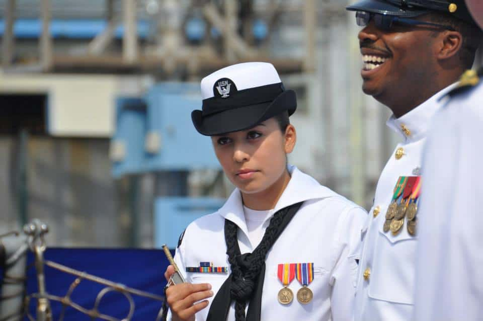 sailor with boatswains pipe uss fitzgerald ddg 62 may 2014 - naval post- naval news and information