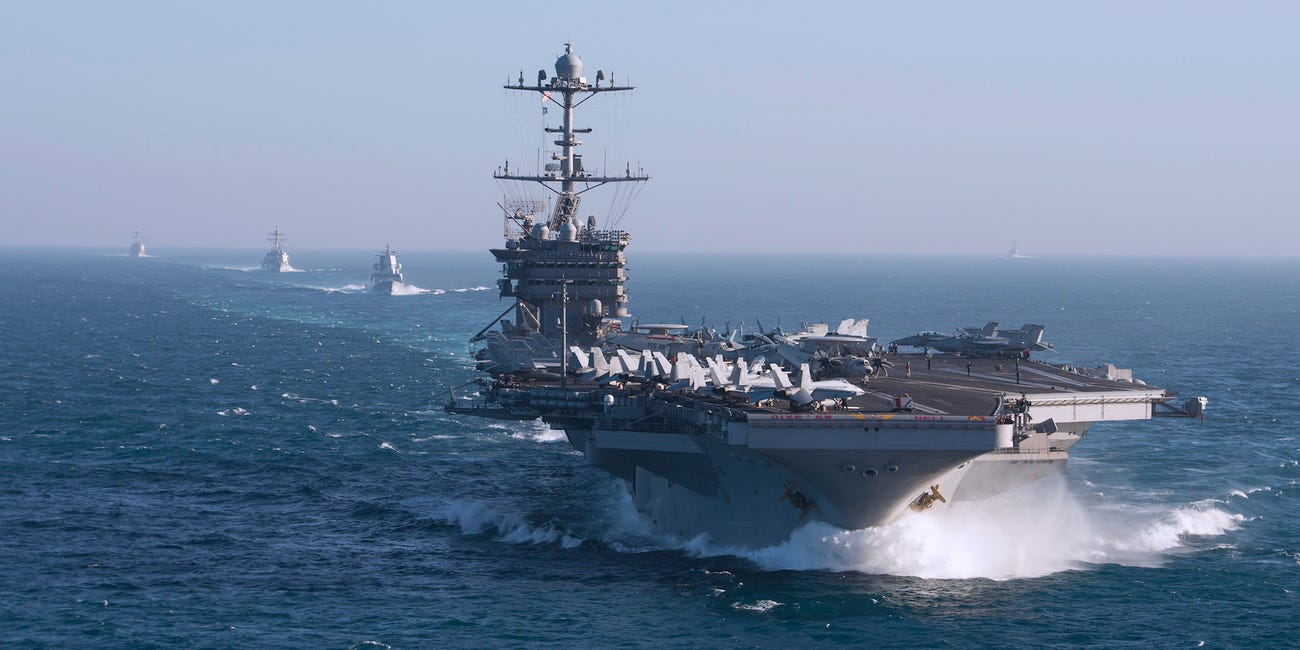 USS Harry S. Truman strike group to remain at sea to avoid COVID-19
