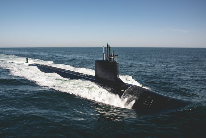 U.S. Navy commissions 18th Virginia-class attack submarine