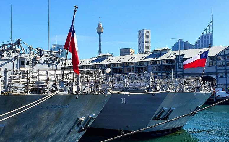 chilean frigates in sydney - naval post- naval news and information