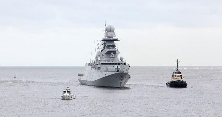 NATO SNMG-2 units make a port visit Poti/Georgia