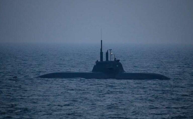 German Type 212 submarine taken to dry dock for torpedo tube repairs