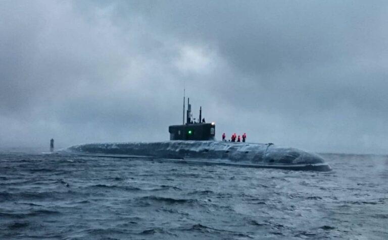 "Russia's latest nuc-powered submarine ""Knyaz Vladimir"" begins the final stage of sea trials"