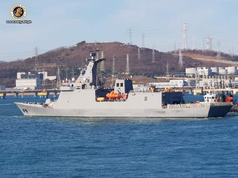 Philippine Navy's first missile-frigate Jose Rizal to set sail home next week