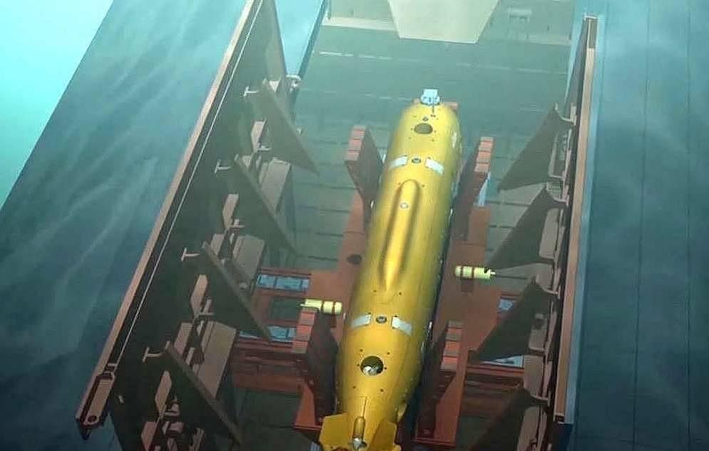 belgoros submarine with poseidon