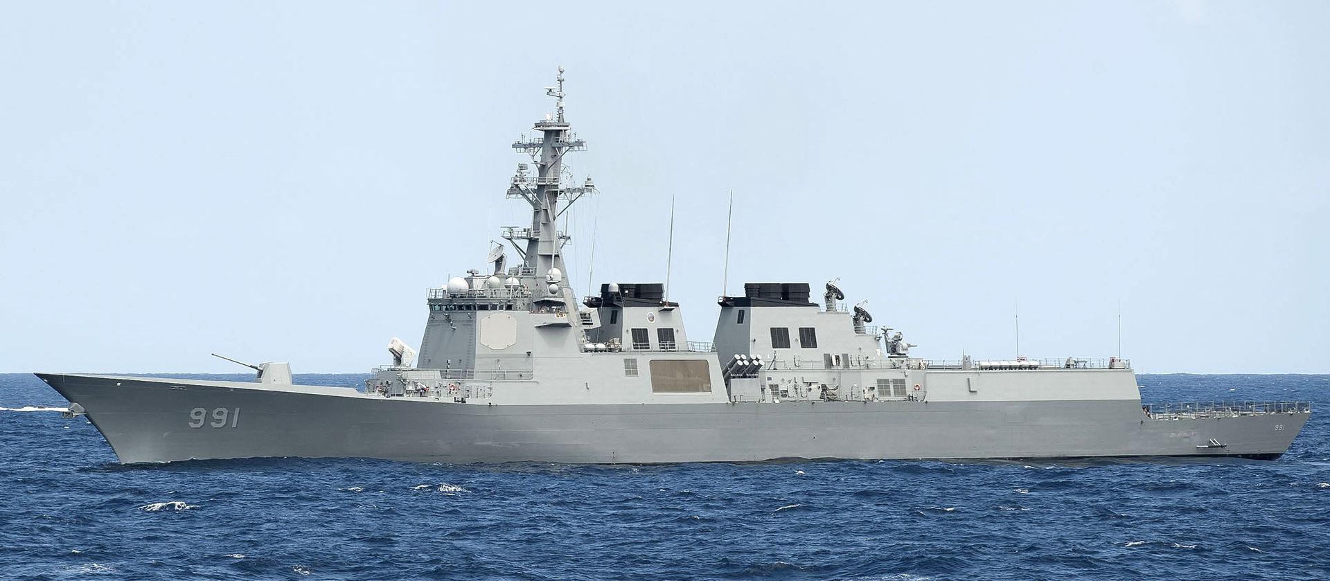 South Korean Navy sends 2 destroyers to U.S.-led RIMPAC exercise