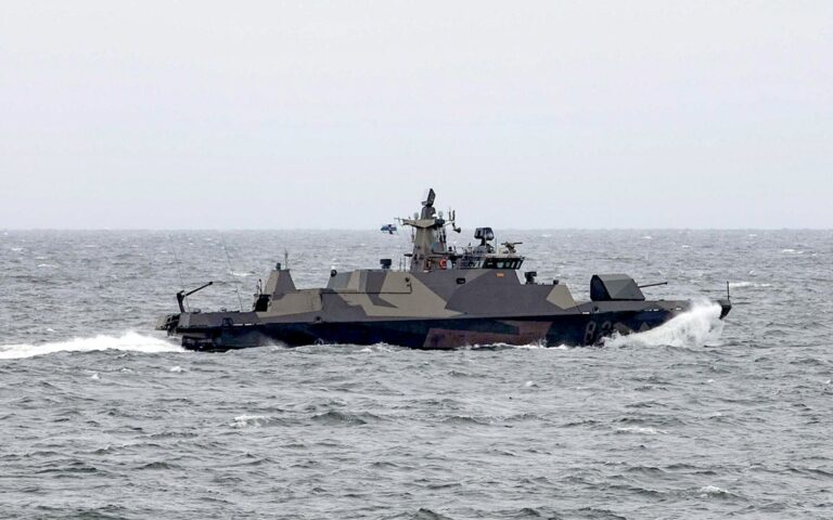 Standing NATO Maritime Group One hold drills with Finnish Navy
