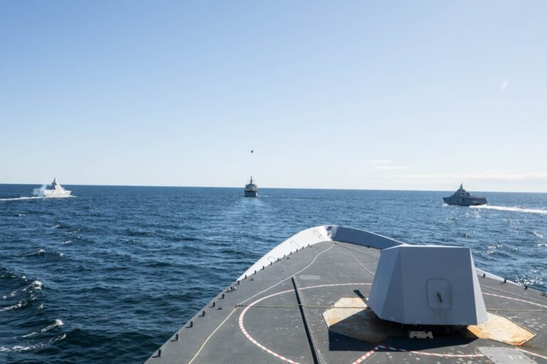 Swedish naval exercise SWENEX-2020 was conducted with the participation of NATO assets