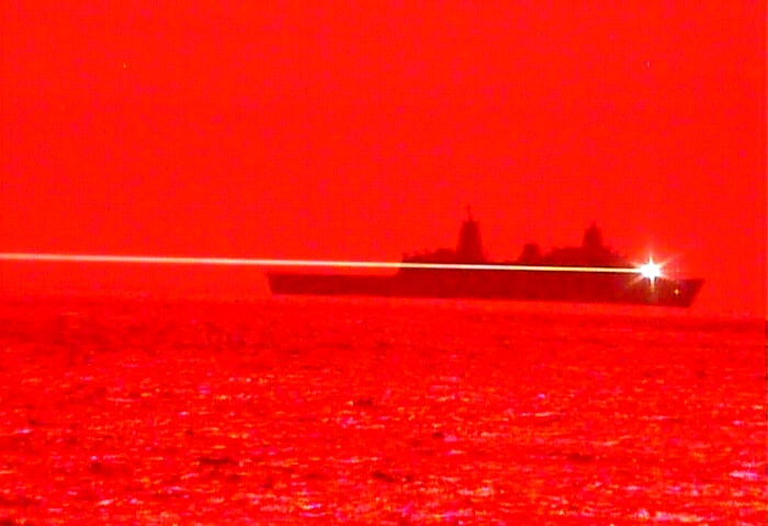US Navy Tests Laser Weapon System