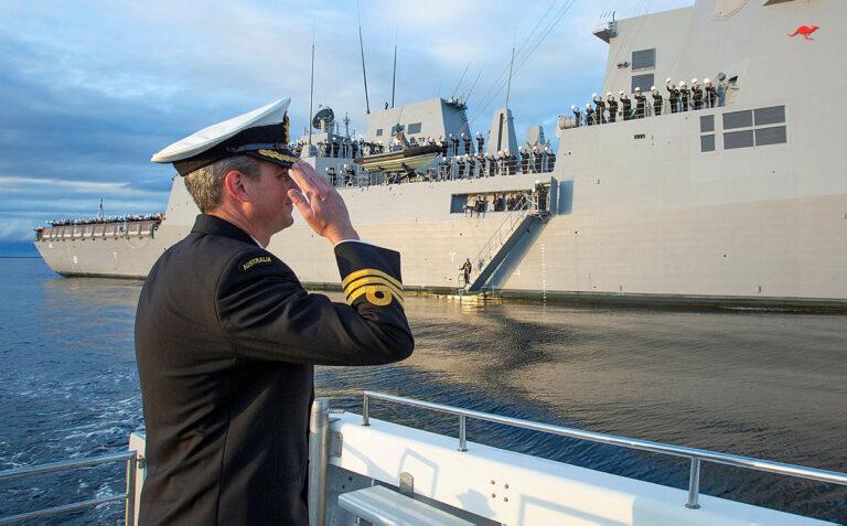Royal Australian Navy commissions Air Warfare Destroyer HMAS Sydney