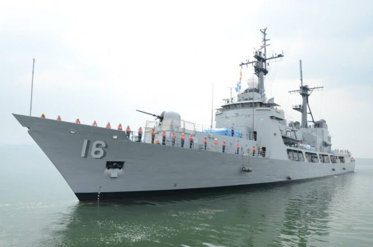 Fire occurs onboard Phillippine Navy frigate after departing Indian port