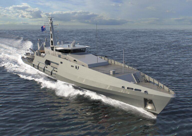Austal to build 6 Cape-class patrol boats for the Royal Australian Navy