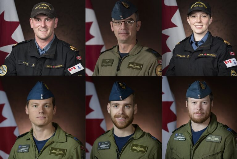 UPDATE: Royal Canadian Navy's Helicopter Accident